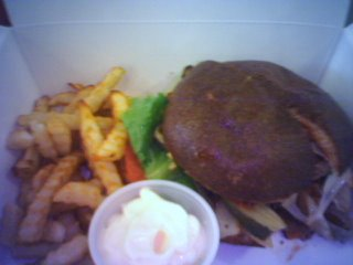 Oranique - burger and air baked fries