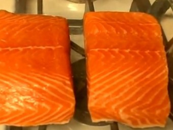 Easy Baked Salmon New York