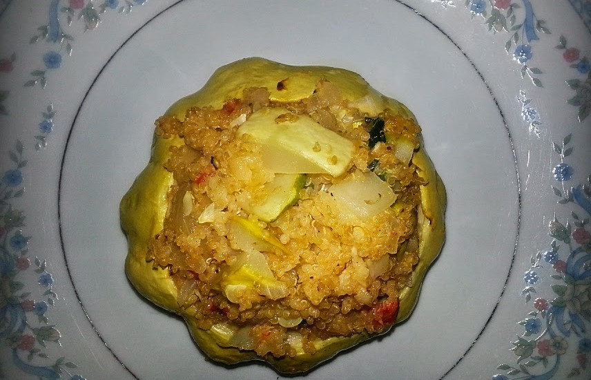 Daily Eats Stuffed Patty Squash